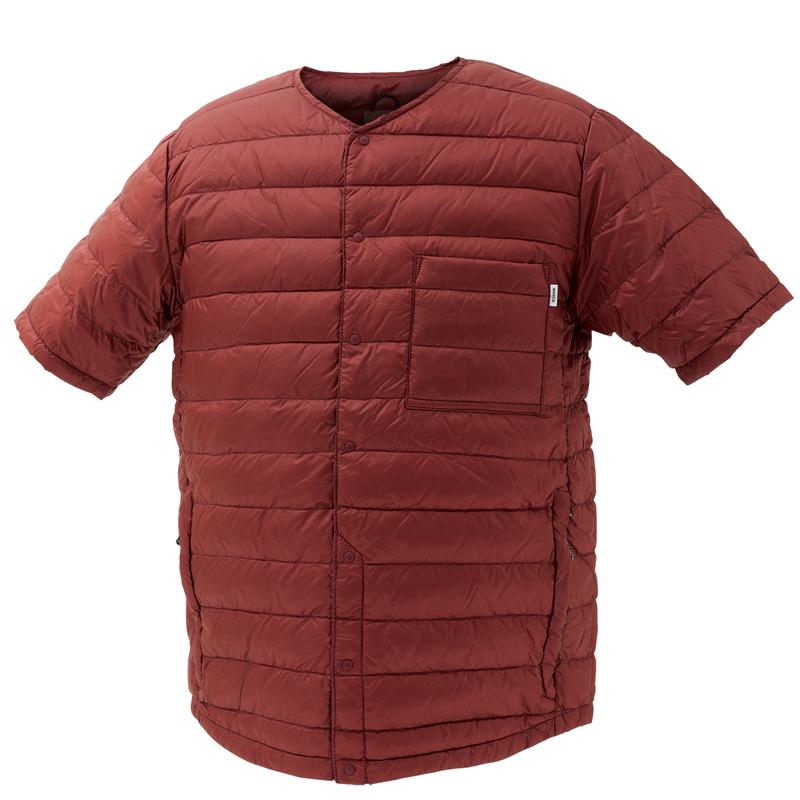 ナンガ(NANGA) ダウン Tシャツ XS BUR DT111