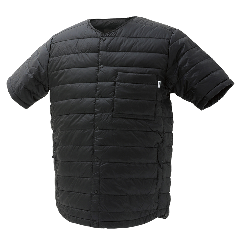 ナンガ(NANGA) ダウン Tシャツ XL BLK DT112