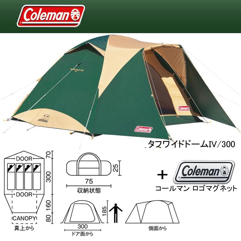 Coleman(コールマン) タフワイドドームIV/300+ロゴマグネット 2000017860
