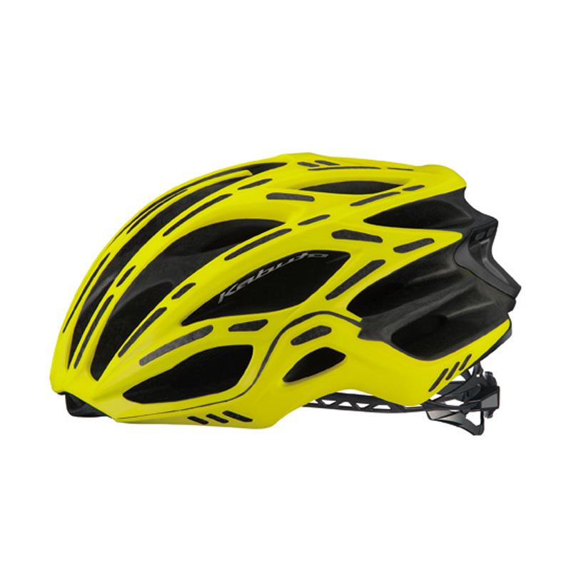 オージーケー カブト(OGK KABUTO) ヘルメット FLAIR フレアー L/XL マットイエロー