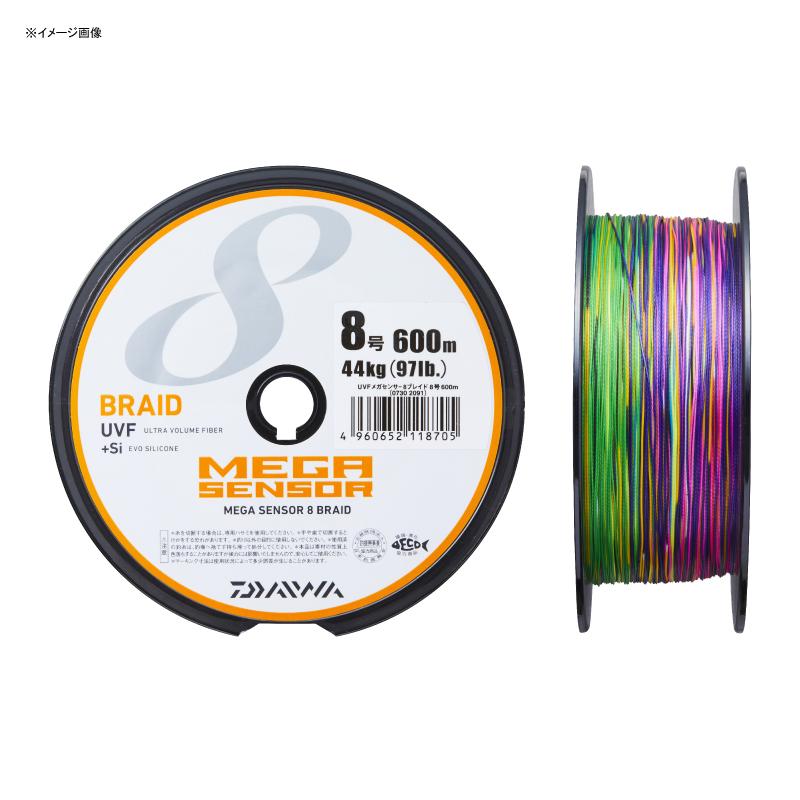 ダイワ(Daiwa) UVF メガセンサー 8ブレイド+Si 500m 10号 07302092