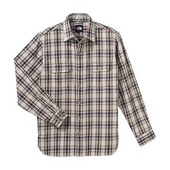 THE NORTH FACE(ザ・ノースフェイス) NT26729 L/S Basic Shirt M DU(デューン)