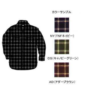 THE NORTH FACE(ザ・ノースフェイス) NT26730 L/S Basic Shirt M AD(アダーブラウン)