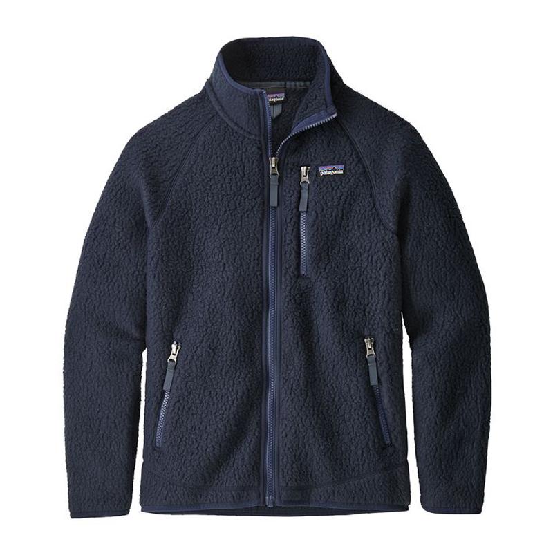 【送料無料】パタゴニア(patagonia) Boys' Retro Pile Jacket(ボーイズ レトロ パイル ジャケット) L NVYB 65410【あす楽対応】