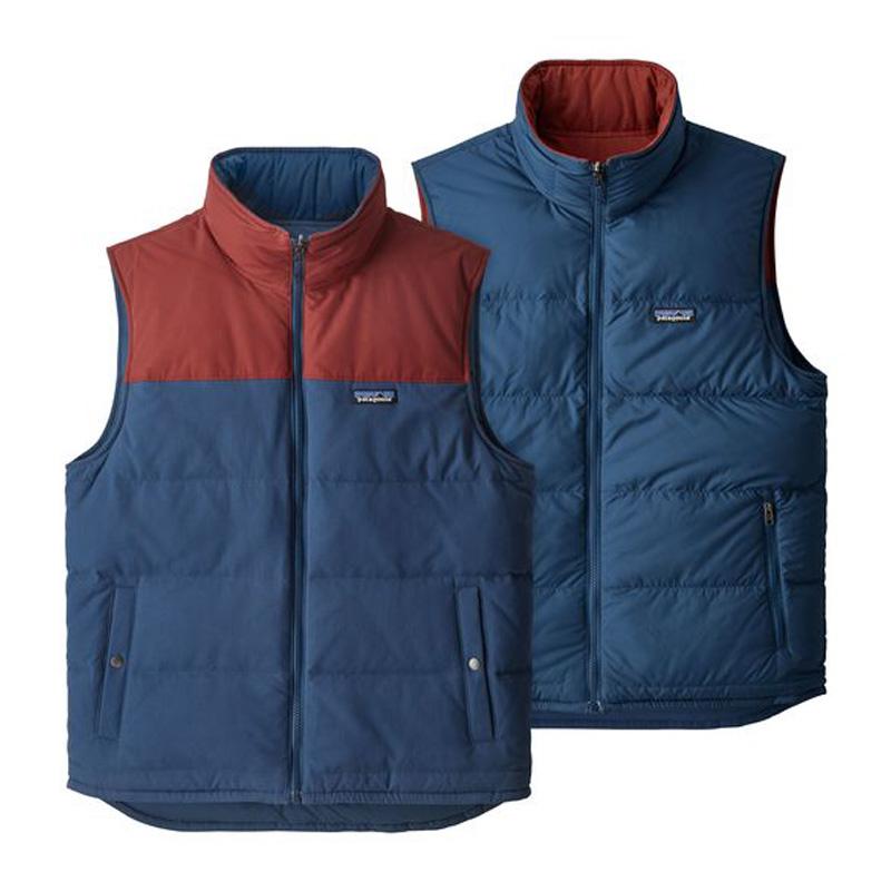 【送料無料】パタゴニア(patagonia) Reversible Bivy Down Vest リバーシブル ビビー ダウン ベスト Men's M SNBL 27587