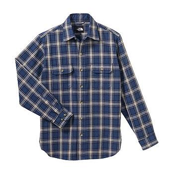 THE NORTH FACE(ザ・ノースフェイス) NT26729 L/S Basic Shirt L AV(エイビエーターブルー)
