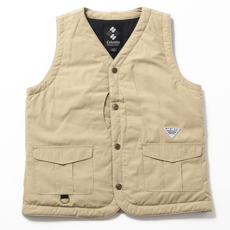 【送料無料】Columbia(コロンビア) Mather Crest Vest(マザー クレスト ベスト) Men's M 270(TWILL) PM5626