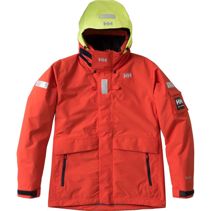 HELLY HANSEN(ヘリーハンセン) HH11550 Ocean Frey Jacket(オーシャン フレイ ジャケット) Men's XS SL(ソーラーレッド)