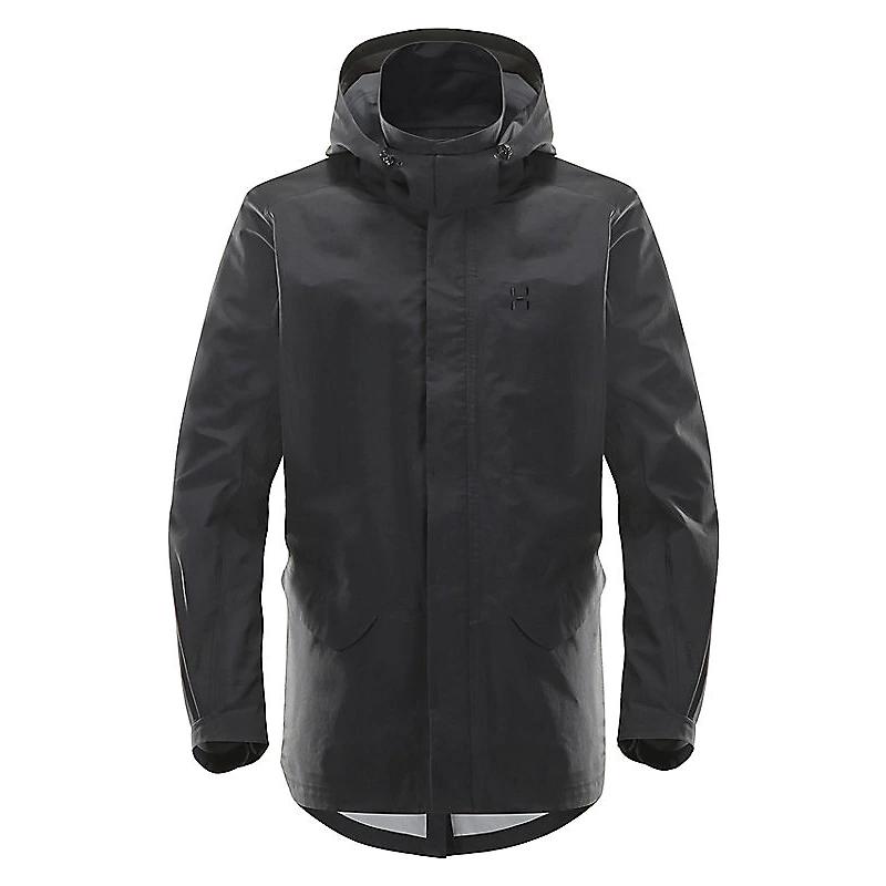 【送料無料】HAGLOFS(ホグロフス) Idtjarn Jacket Men's S True black 603608