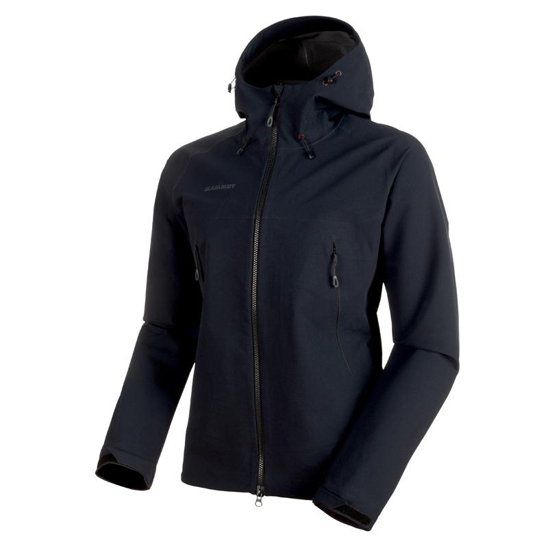 【送料無料】MAMMUT(マムート) Masao SO Jacket Men's L black 1011-00460