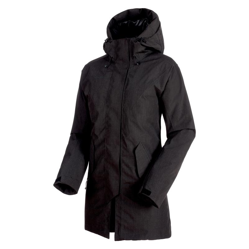 MAMMUT(マムート) Seon HS Thermo Hooded Coat Women's M black 1010-26730