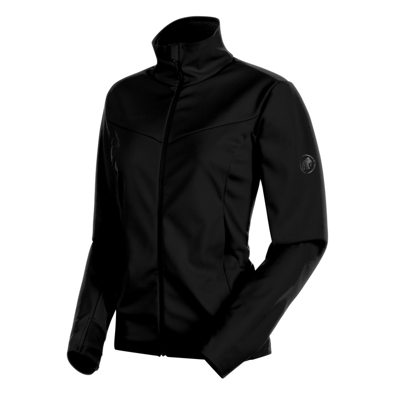 MAMMUT(マムート) Ultimate V SO Jacket Women's S black×black 1011-00092