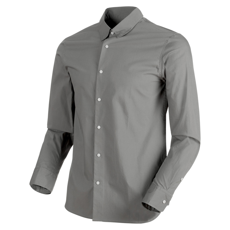 新品登場 MAMMUT(マムート) Men's CHALK Shirt Men's titanium L titanium Shirt 1015-00200, 山県郡:d8bdf027 --- clftranspo.dominiotemporario.com