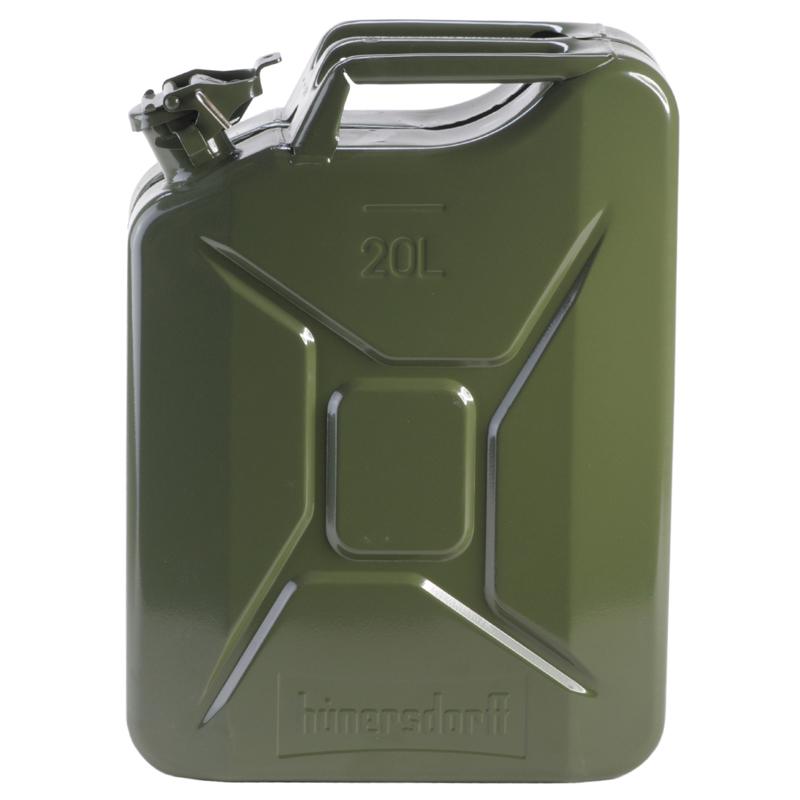 ヒューナースドルフ(hunersdorff) Metal Kanister CLASSIC 20L olive 434701【あす楽対応】