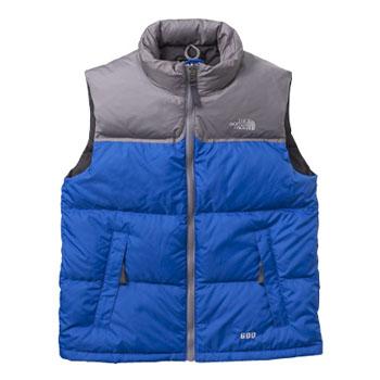 THE NORTH FACE(ザ・ノースフェイス) Boy's Nuptse Vest(ボーイズ ヌプシベスト) M(USA) BB(ブライトブルー) NDJ01394
