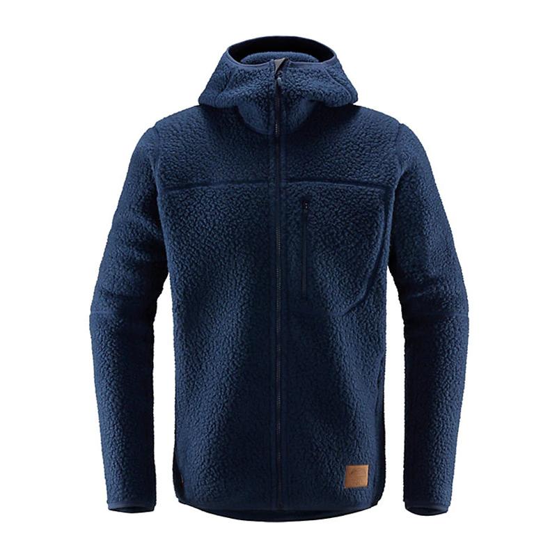 【送料無料】HAGLOFS(ホグロフス) Pile Hood Men's M 3N5(TARN BLUE) 604137
