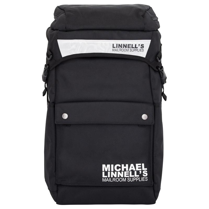 【送料無料】マイケルリンネル(MICHAEL LINNELL) Cannon Pack(キャノン パック) ML-013 34L Black×White 114113