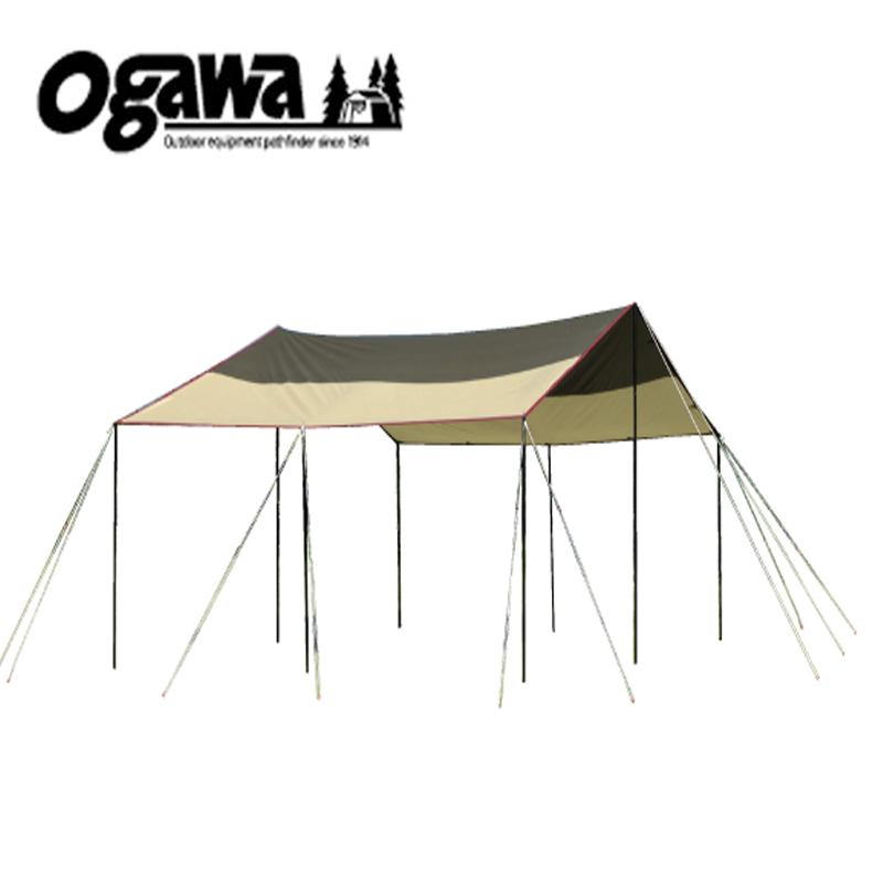 【送料無料】ogawa(小川キャンパル) フィールドタープレクタL-DX ブラウン×サンド×レッド 3335