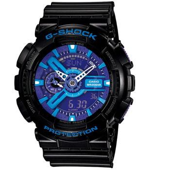 G-SHOCK(ジーショック) 【国内正規品】GA-110HC-1AJF ブラック×ブルー