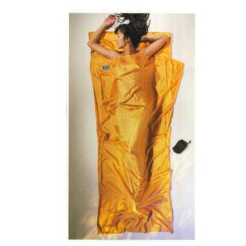 COCOON(コクーン) ST71 トラベルシーツ 100%シルク サンセットオレンジ 12550001005000