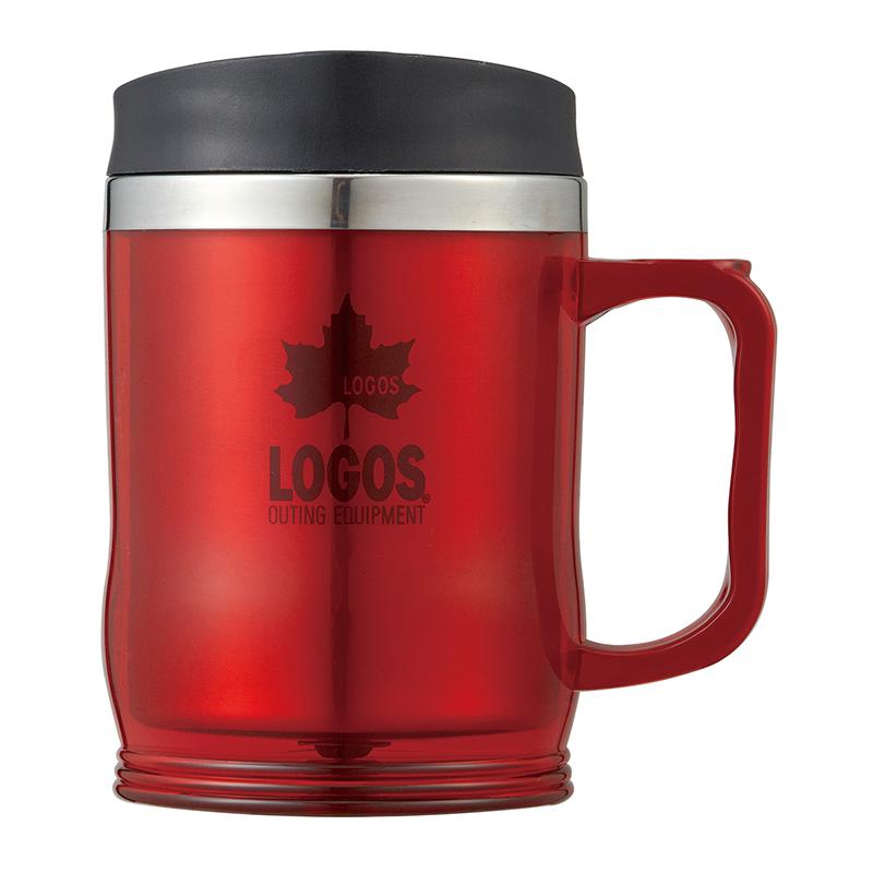 ロゴス(LOGOS) プリメイヤーマグ 420ml レッド 81285103
