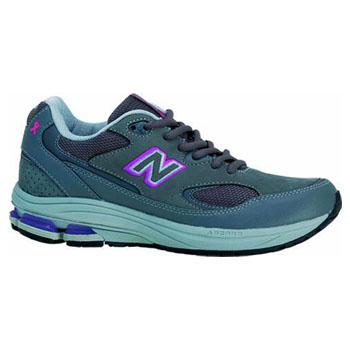 new balance(ニューバランス) NBJ-WW1501GP4E Fitness Walking LADY'S 4E/23.0cm GRAY×PURPLE