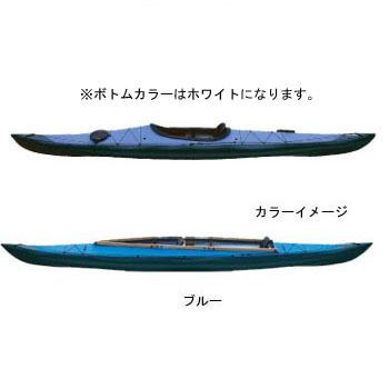 フジタカヌー(FUJITA CANOE) 430 TREK(トレック)【STD】 D:ブルーB:ホワイト PE-1