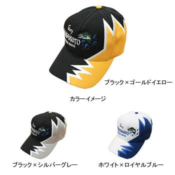 无加里Yamamoto(Gary YAMAMOTO)Lightning CAP(闪电盖子)黑色×银灰色