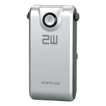 TOPEAK(トピーク) 2W用 ホワイトライト HP 2W パワーパック7.4V 2200(TMS-SP65) YLP03900