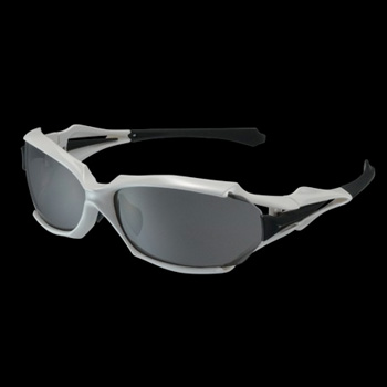 OGK(オージーケー) FD-550 パールホワイト 偏光撥水スモーク