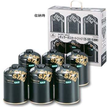 船長標簽(CAPTAIN STAG)常規煤氣墨盒CS-500<6個組>M-8806