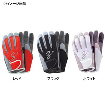 Znak (ZENAQ) 3-D short gloves saltwater game LL white