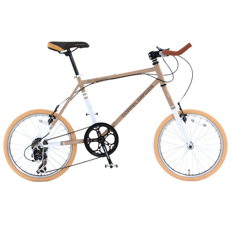 ドッペルギャンガー(DOPPELGANGER) 260 Parceiro(パルセイロ) 【20インチ 折りたたみ自転車】 20インチ ブロンズグレイ×アルペンホワイト 260-GY