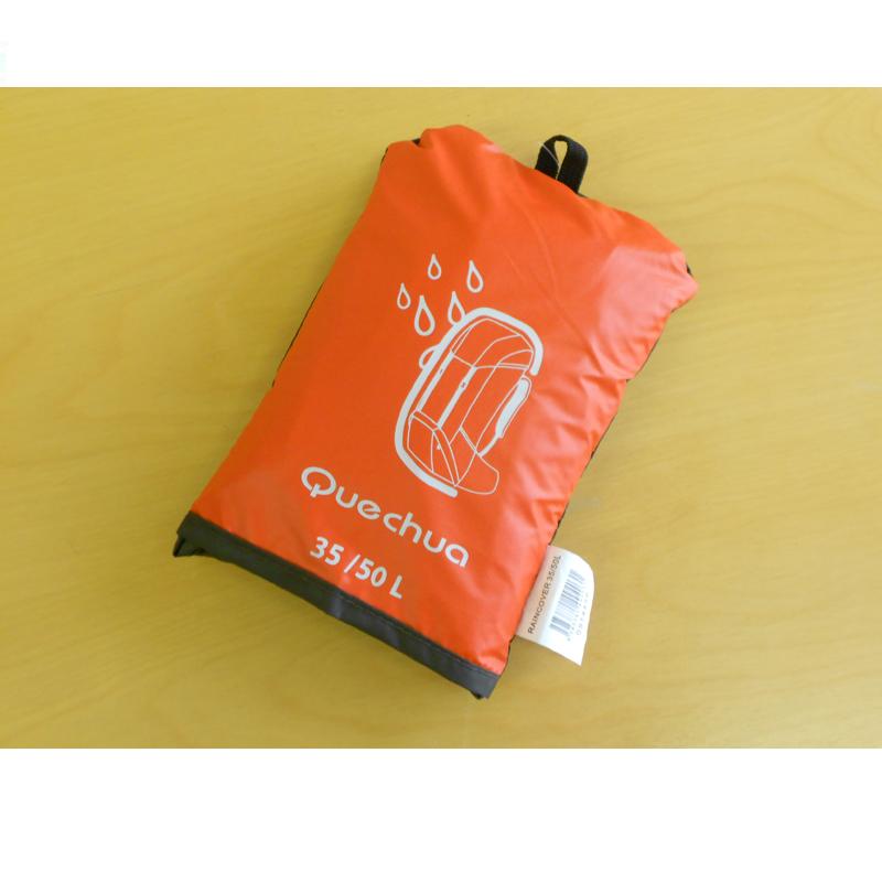 Quechua(keshua)雷恩覆盖物可逆35/50L GRAY/RED 8028567-914456