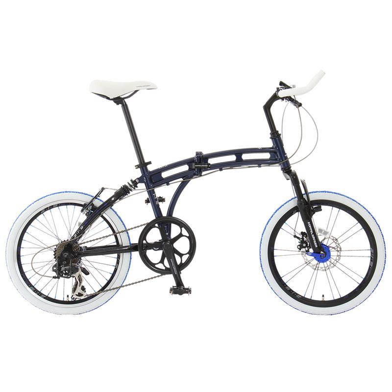 ドッペルギャンガー(DOPPELGANGER) 219 aurora(オーロラ) 【20インチ 折りたたみ自転車】 20インチ インディゴブルー