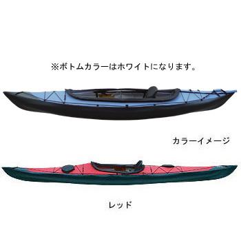 フジタカヌー(FUJITA CANOE) ALPINA-1(アルピナ1) 310 D:レッドB:ホワイト