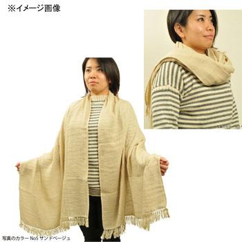 宮崎タオル(miyazaki-towel) ショール No.5 サンドベージュ