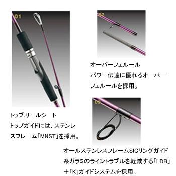 gamakatsu(Gamakatsu)LUXXE鹰眼睛EG-S86MH