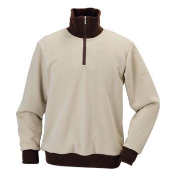 ミズノ(MIZUNO) シープフリーススウェットシャツ Men's S 48(ライトベージュ) A58SM02148