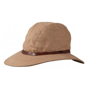 パズデザイン 麻帽涼風 M ブラウン ZHC-016