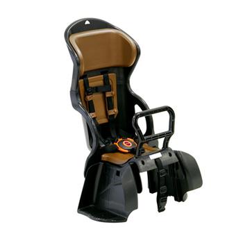 OGK(オージーケー) RBC-015DX ヘッドレスト付カジュアルうしろ子供のせ 黒×茶 17962