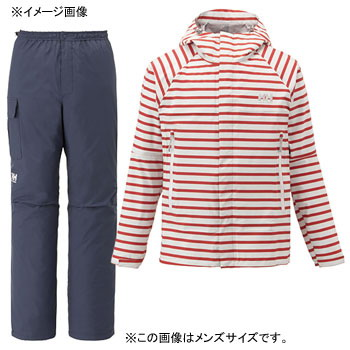 HELLY HANSEN(ヘリーハンセン) HOE11400 SCANDZA HELLY RAIN SUIT WL R1(ボーダーレッド)