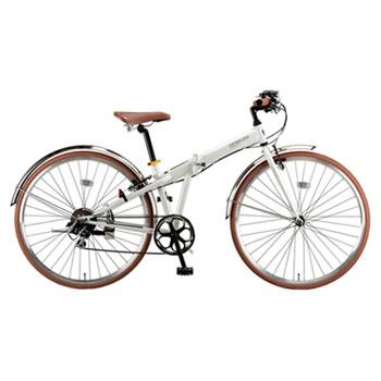 キャプテンスタッグ(CAPTAIN STAG) ブラッシュアップFDB7007BAA 折りたたみ700C自転車 700C パールホワイト YG-211
