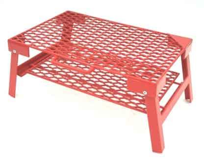 【送料無料】ネイチャートーンズ(NATURE TONES) The Rhombus Mesh Table S レッド RM-S-R