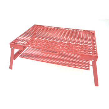 ネイチャートーンズ(NATURE TONES) The Rhombus Mesh Table M レッド RM-M-R