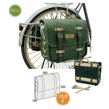 自転車バッグ 贈物 オーストリッチ OSTRICH DLX グリーン 5%OFF サイドバッグ