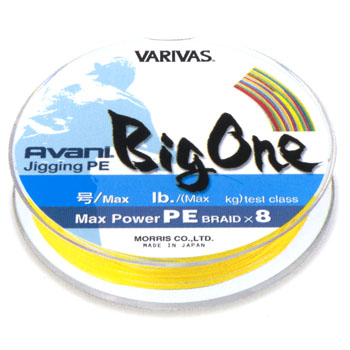 モーリス(MORRIS) バリバス アバニ マックスパワー ジギングPE ビッグワン 600m 6号/85lb 10m×5色