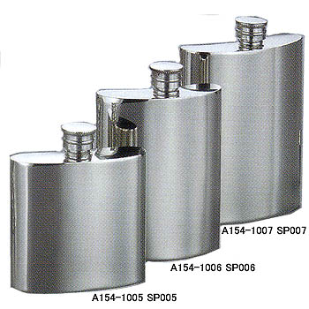 ウィンドミル(WIND MILL) ピンダーピューターウィスキーボトル 3.0oz プレーン A154-1005-SP005