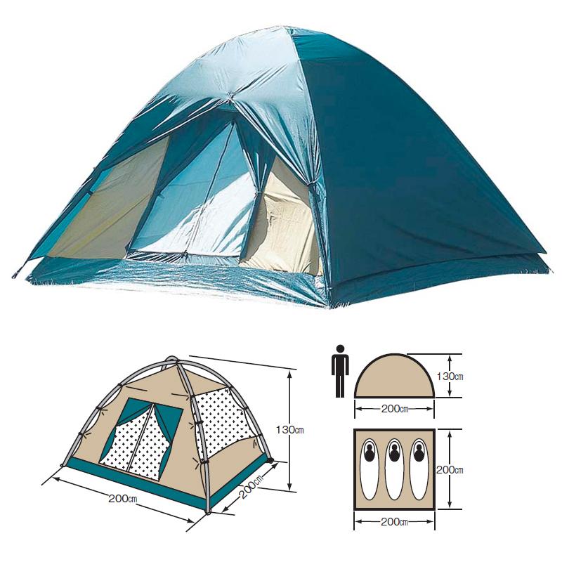 テント キャプテンスタッグ 高額売筋 CAPTAIN STAG 気質アップ M-3105 クレセント3人用ドームテント