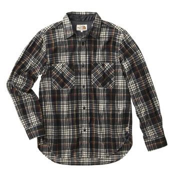THE NORTH FACE(ザ・ノースフェイス) PREPPY SHIRT MEN'S XL K(ブラック) AT30854